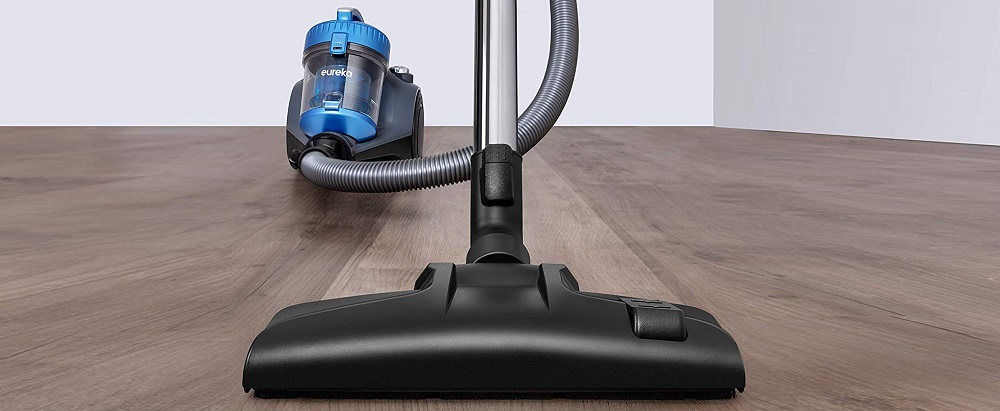 Canister Vacuum with HEPA Filter