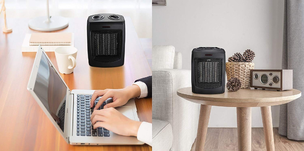 AmazonBasics vs. Andily Space Heater