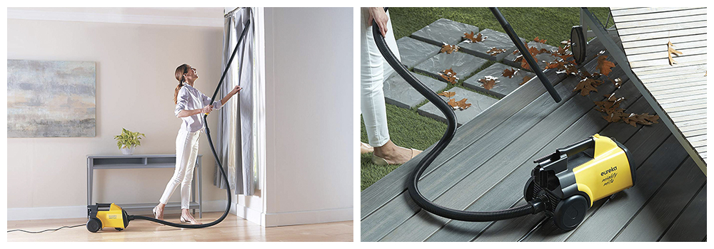 Corded Canister Vacuum for floors