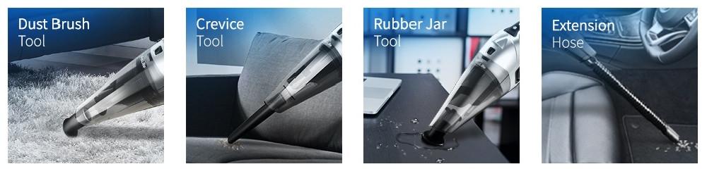 VacLife Handheld Vacuum, Hand Vacuum Cordless with High Power