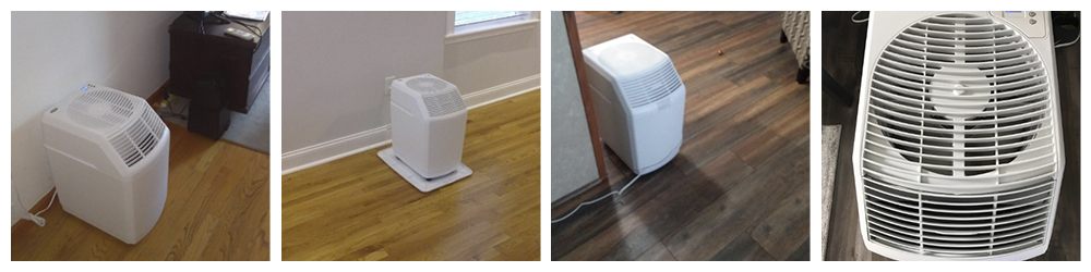 Humidifiers with Filters