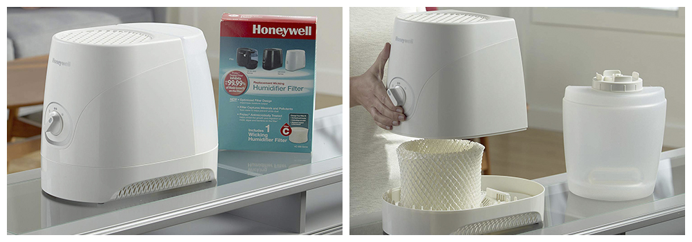 Moisture Humidifier with Filters