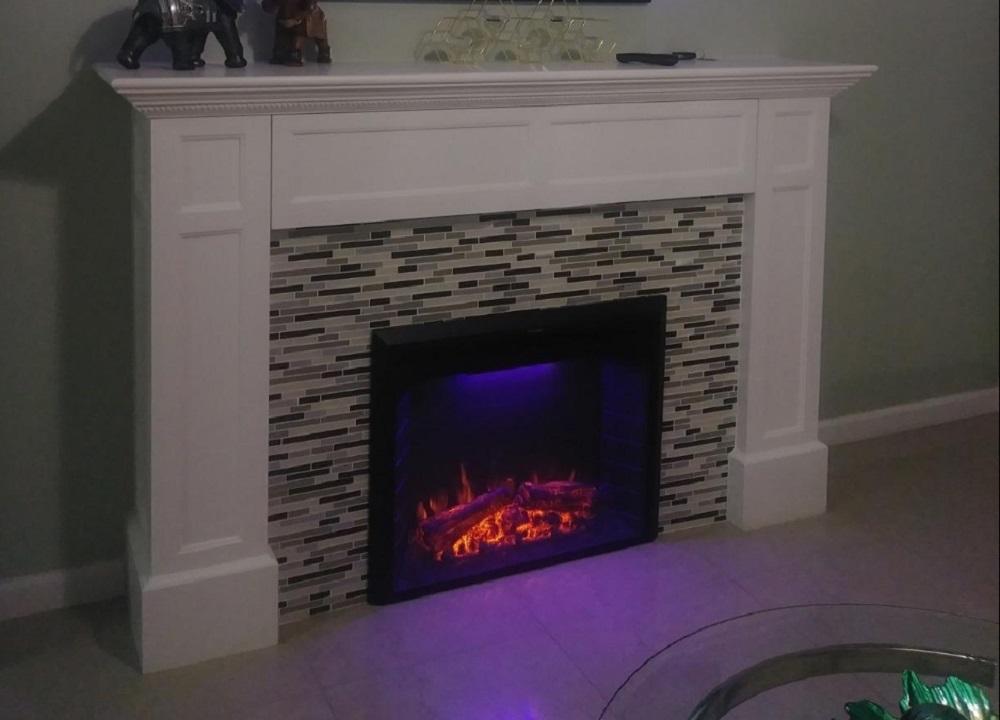 Flameline 33'' Roluxy Electric Fireplace Insert