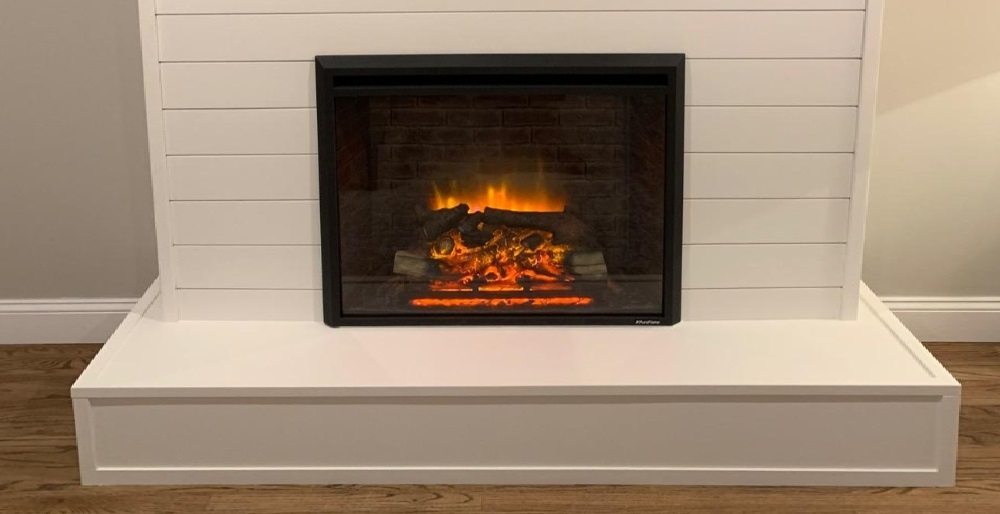 PuraFlame 33 Inches Western Electric Fireplace Insert
