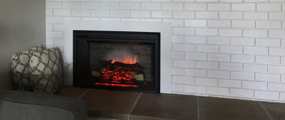 PuraFlame 33 Inches Western Electric Fireplace Insert Review