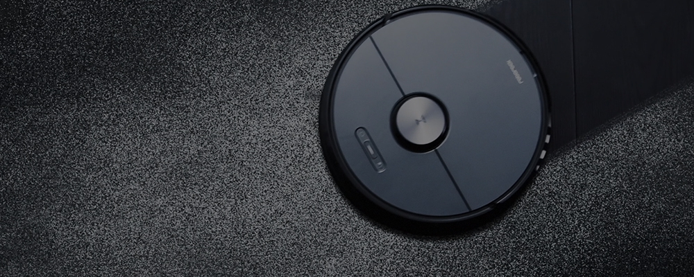 Roborock S6 Robot Vacuum, Robotic Vacuum Cleaner and Mop with Adaptive Routing, Selective Room Cleaning, Super Strong Suction, and Extra Long Battery Life, APP & Alexa Voice Control