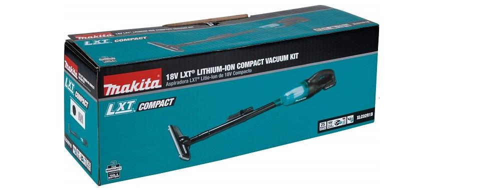 Makita XLC02R1B 18V LXT Lithium-Ion Compact Cordless Vacuum