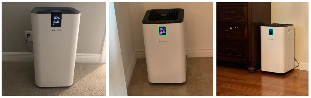 Inofia Air Purifier with True HEPA Air Filter