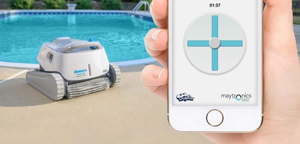 Review of the Dolphin Mercury Robotic Pool Cleaner