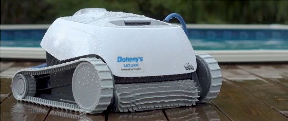 Dolphin Saturn Automatic Robotic Pool Cleaner Review