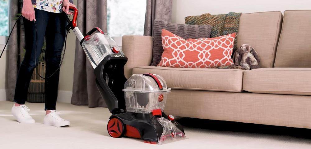 Hoover Power Scrub Elite Pet Upright Carpet Cleaner