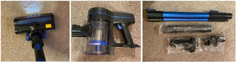 Aposen Stick Vacuum Cleaner Review
