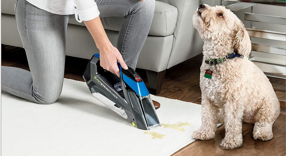 Bissell 20037 Pet Stain Eraser Portable Carpet Cleaner Review