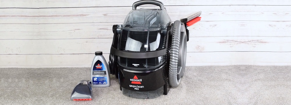Bissell 3624 SpotClean Professional Portable Carpet Cleaner Review