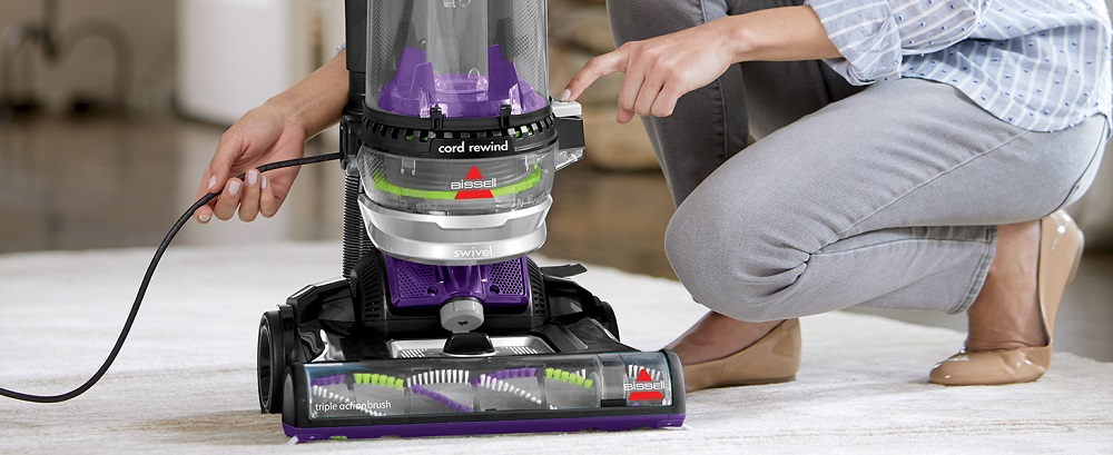 Bissell Cleanview Swivel Rewind Pet Upright Vacuum 22543