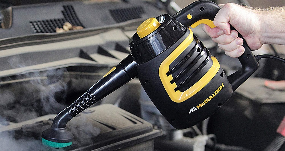 McCulloch MC1230 Handheld Steam Cleaner Evaluation