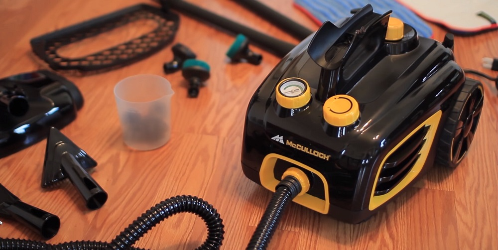 McCulloch MC1375 Canister Steam Cleaner Review
