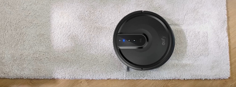 eufy by Anker, BoostIQ RoboVac 35C, Robot Vacuum Cleaner, Wi-Fi, Upgraded, Super-Thin, 1500Pa Strong Suction, Touch-Control Panel, 6ft Boundary Strips, Quiet, Cleans Hard Floors to Medium-Pile Carpets