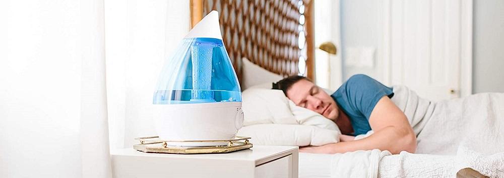 Crane Drop Ultrasonic Cool Mist Humidifier