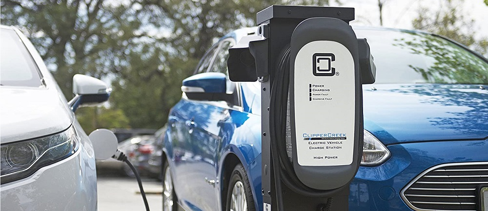 ClipperCreek HCS-50 EVSE EV Charging Station