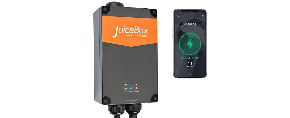 JuiceBox Pro 40 Smart Electric Vehicle (EV) Charging Station