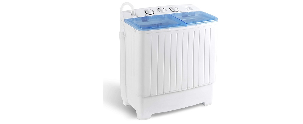 SUPER DEAL SD190115 2IN1 Mini Compact Twin Tub Washing Machine Review