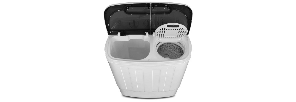 SUPER DEAL SD2304 Compact Mini Twin Tub Washing Machine Review