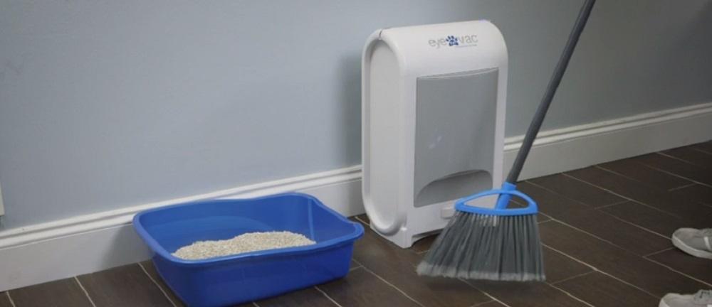 EyeVac Pet -Touchless Stationary Vacuum
