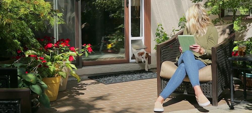 sliding pet doors